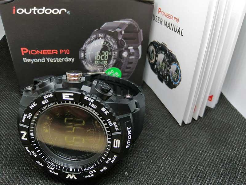 Обзор смарт-часов ioutdoor Pioneer P10: FSTN-экран третьего поколения и автономность до 33 месяцев 1