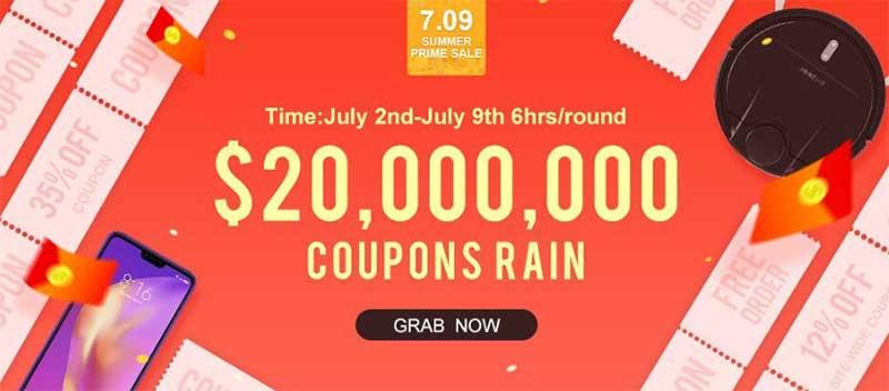 Летняя распродажа 2019 года на сайте Banggood: скидки, купоны и подарки