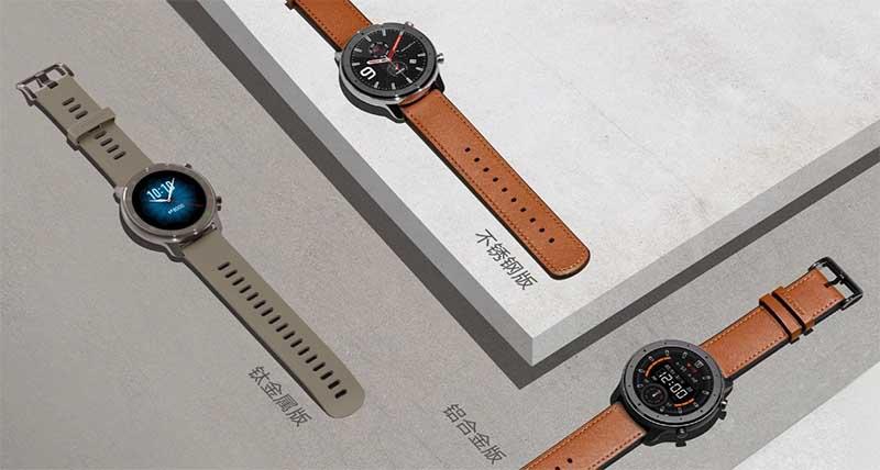 Huami представила умные часы Amazfit GTR цена, характеристики и дата начала продаж 2