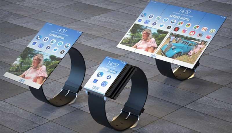 IBM запатентовала смарт-часы