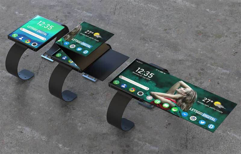 Oppo запатентовала смарт-часы с гибким экраном
