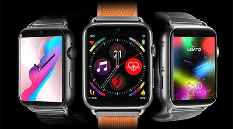 LEMFO LEM10: умные часы с SIM-картой в стиле Apple Watch 1