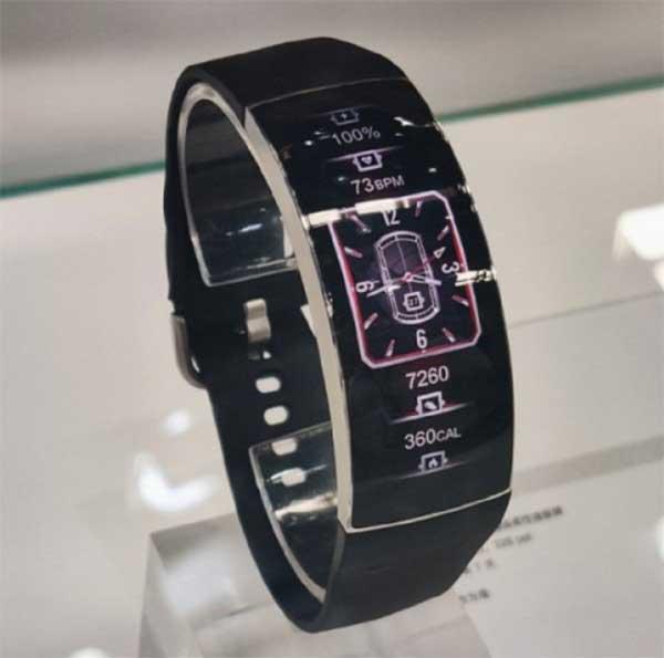 Huami Amazfit X: концептуальные смарт-часы с гибким экраном 1