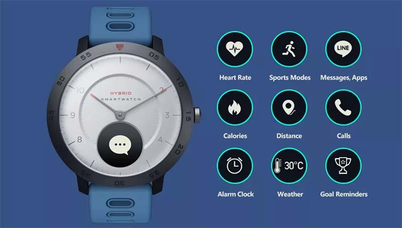 Zeblaze HYBRID: гибридные смарт-часы с функцией измерения артериального давления 3