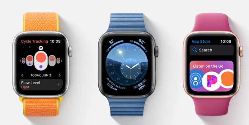 Чем отличаются Apple Watch Series 5 от Series 4