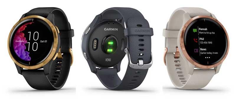Garmin Venu: первые умные часы компании с AMOLED-экраном