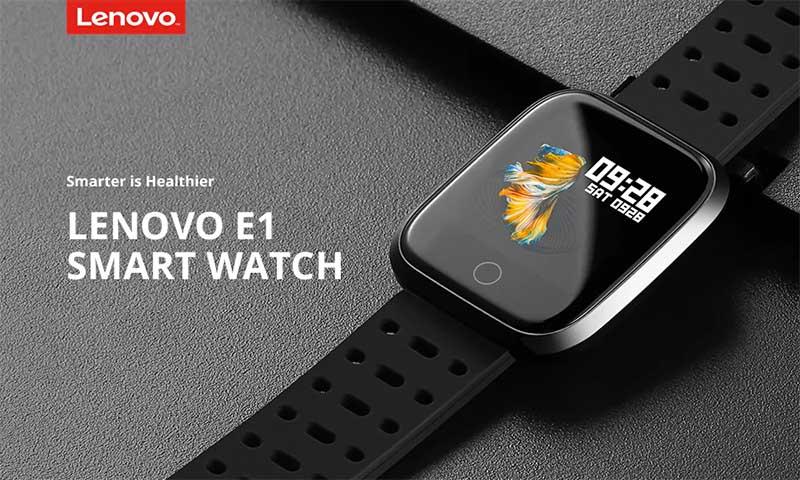 Смарт-часы Lenovo E1