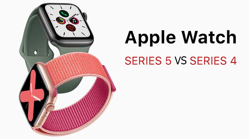Apple Watch Series 5 и Apple Watch Series 4