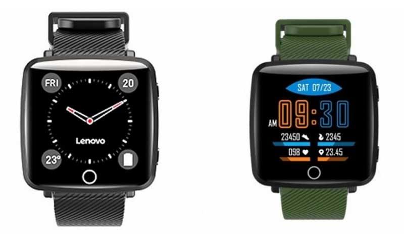 Lenovo выпустила недорогие умные часы Lenovo Carme (HW25P)