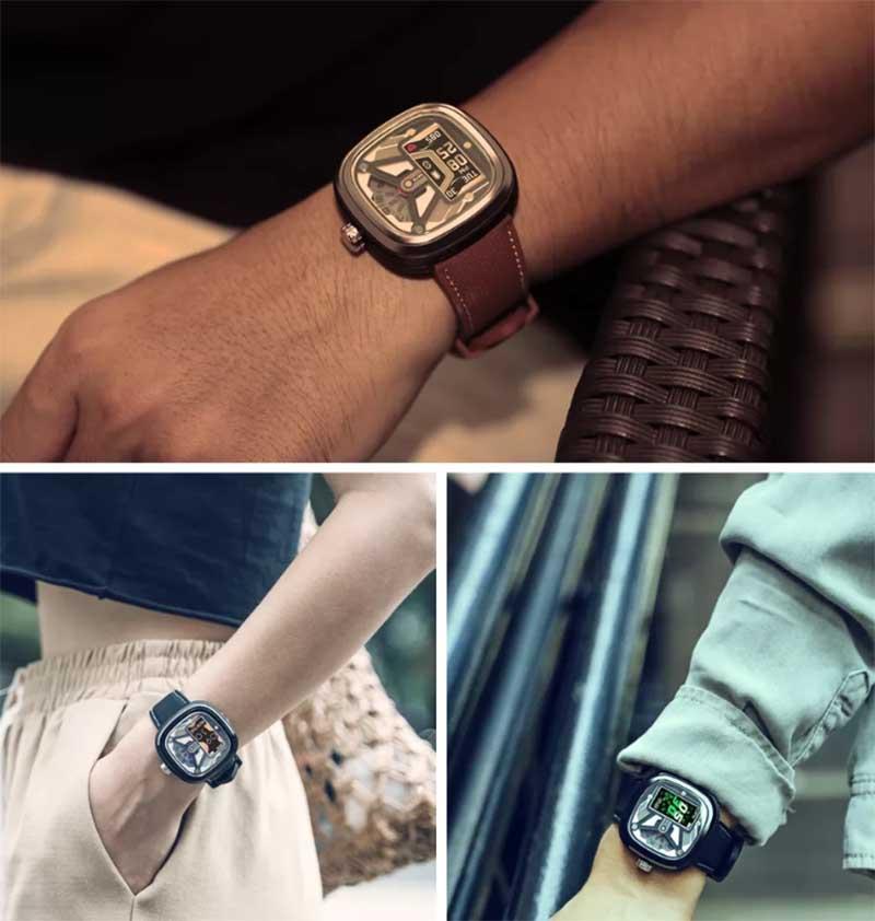 Zeblaze HYBRID 2: фитнес-браслет и механические часы в одном корпусе