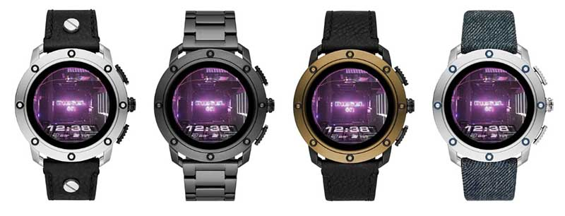 Diesel On Axial: новые умные часы от модного бренда стоимостью 350 долларов
