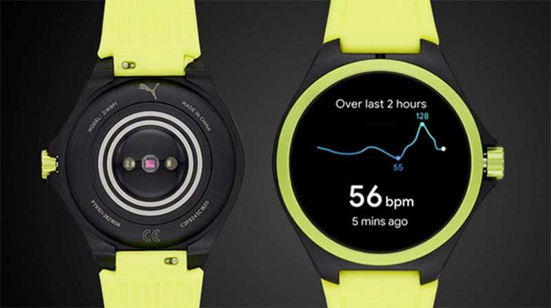 Puma представила свои первые смарт-часы на Wear OS