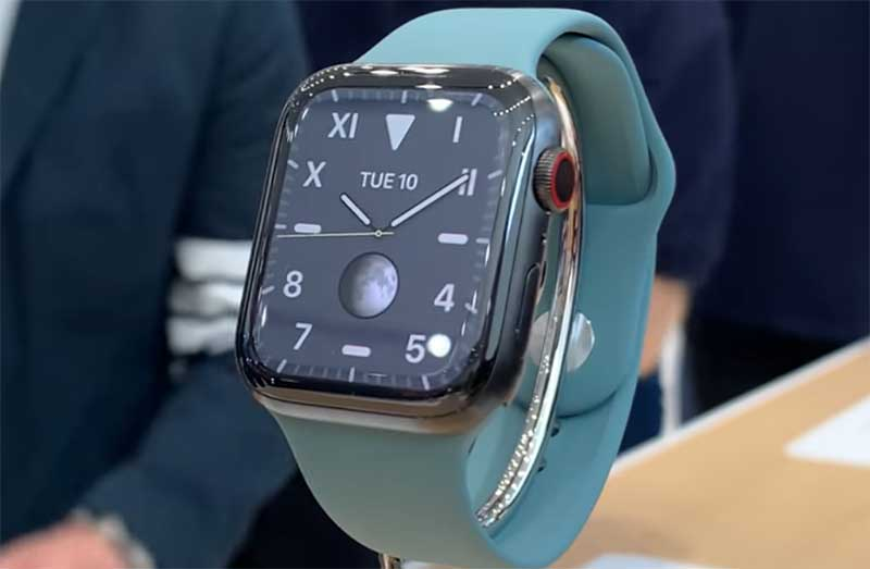 Apple Watch Series 5 представлены официально: цена, особенности и дата начала продаж