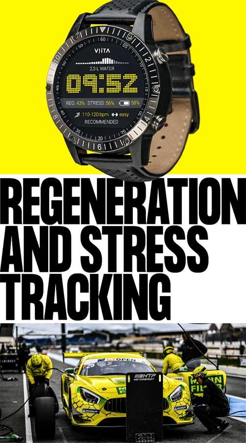 VIITA Race HRV: умные часы премиум-класса с мониторингом гидратации