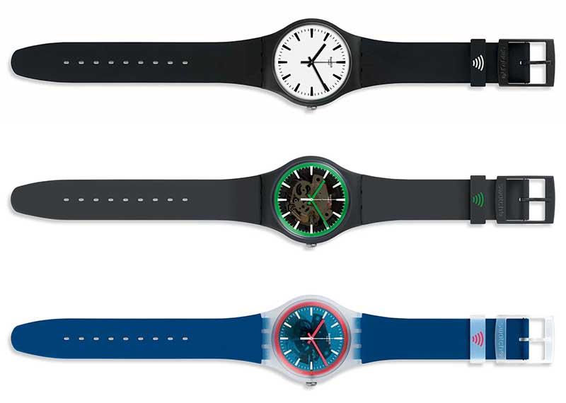 Swatch Pay: кварцевые часы с бесконтактной оплатой NFC