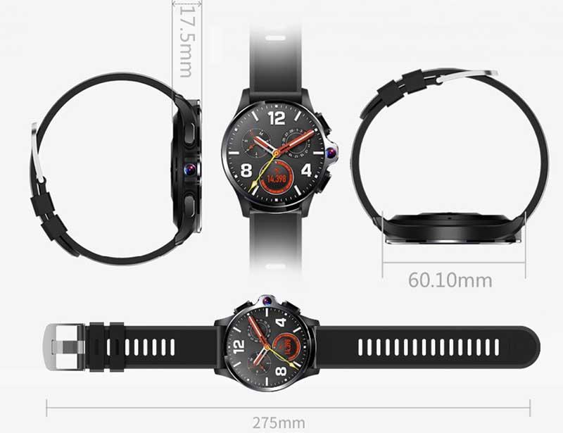 Allcall Awatch GT: умные часы-телефон с двумя камерами, FACE UNLOCK и аккумулятором на 1260 мАч