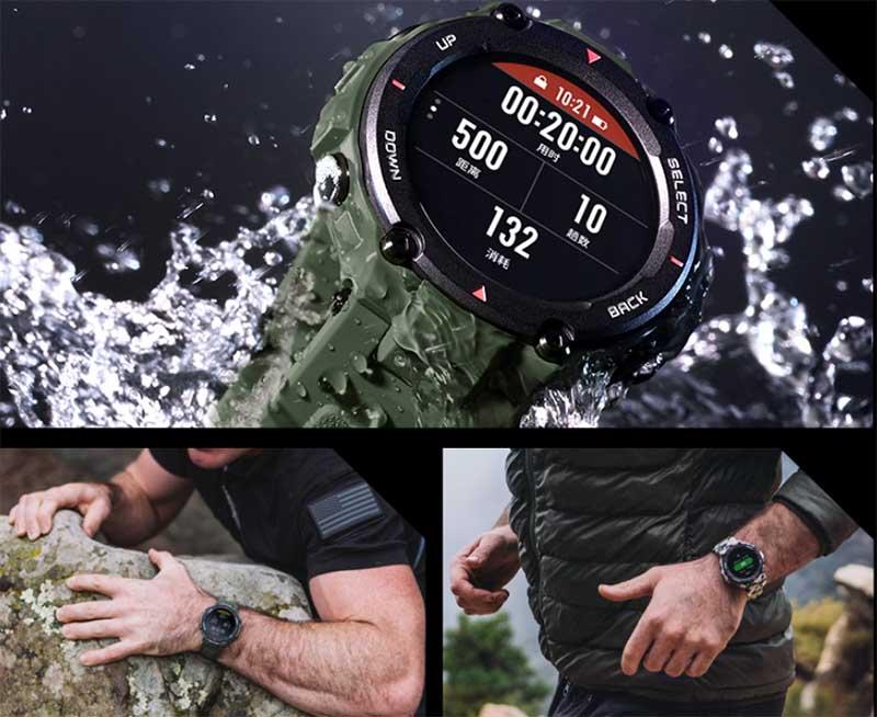 Huami выпустила неубиваемые смарт-часы Amazfit T-Rex
