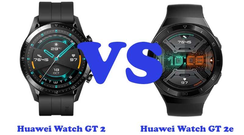 Huawei Watch GT 2e и Huawei Watch GT 2