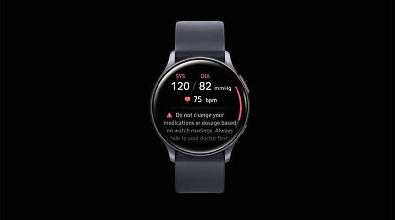 Давление Samsung Galaxy Watch Active 2