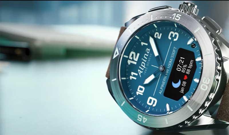 Alpina AlpinerX Alive: гибридные смарт-часы швейцарского производства