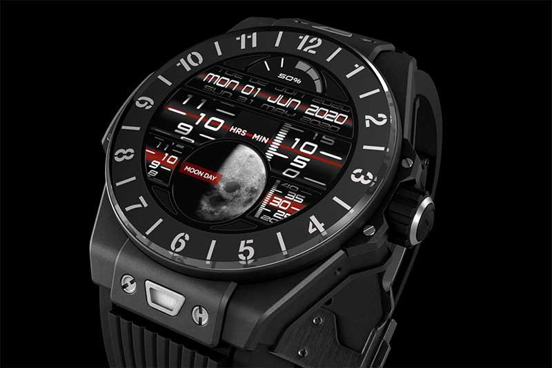 Hublot Big Bang e: умные часы на Wear OS за 5800$