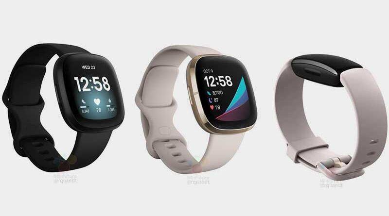 Fitbit Versa 3, Fitbit Sense и Fitbit Inspire 2