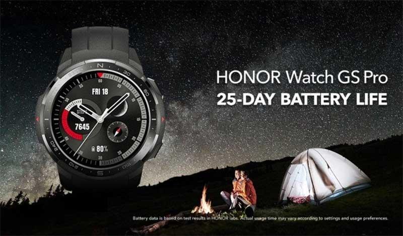 Смарт-часы Honor Watch GS Pro представлены: особенности, характеристики и дата начала продаж