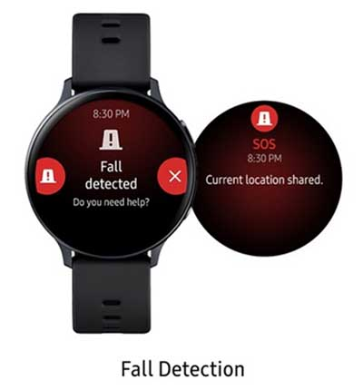 Samsung Galaxy Watch Active 2 получили некоторые функции Watch 3