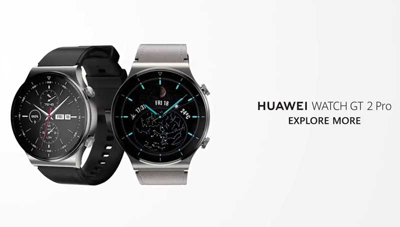Huawei Watch GT2 Pro • Smartchasy.com