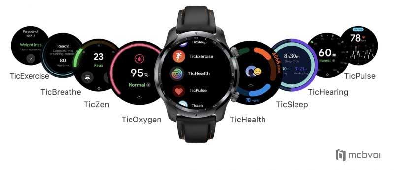 Mobvoi Ticwatch Pro 3: процессор Snapdragon Wear 4100, двойной экран и автономность до 45 дней 2