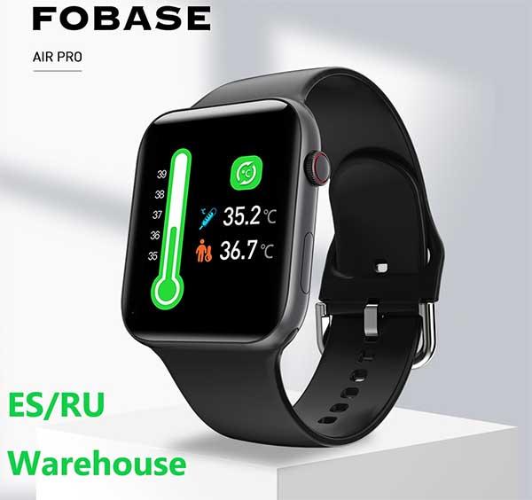 Fobase MAGIC: недорогие смарт-часы с измерением температуры, давления и кислорода 3