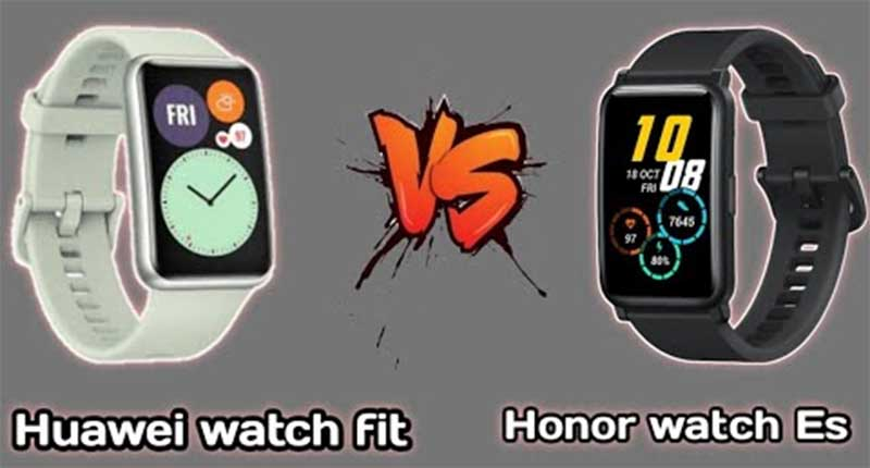HONOR Watch Es vs Huawei Watch Fit