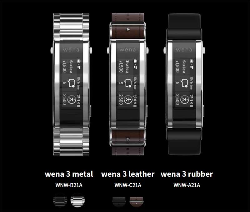 Sony представила «умный» браслет для часов Sony Wena 3 Smart Band