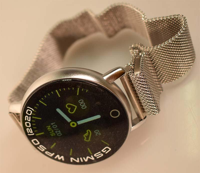 GSMIN WP50 (2020): смарт-часы с измерением давления, пульса и отличными характеристиками 1