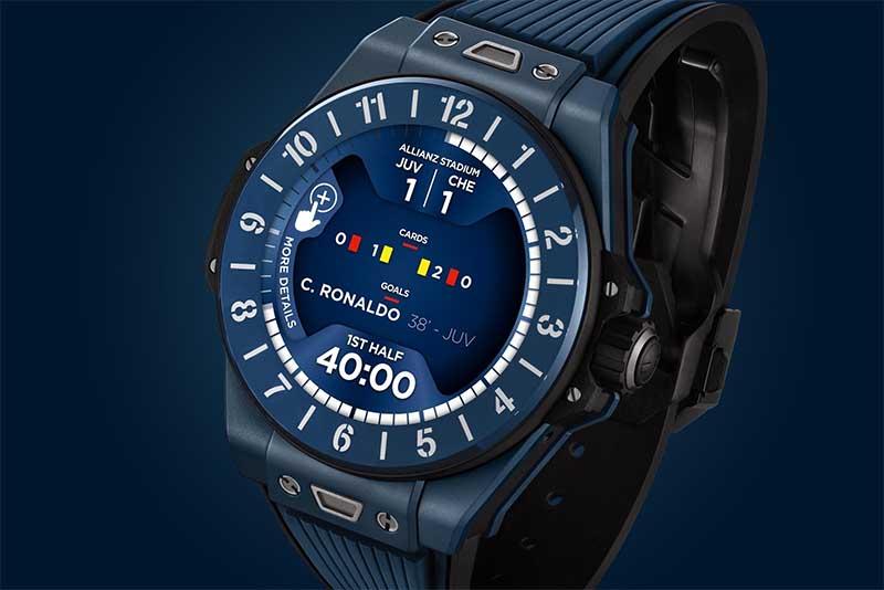 Big Bang E UEFA Champions League - новые умные часы Hublot за 7 000 долларов 1