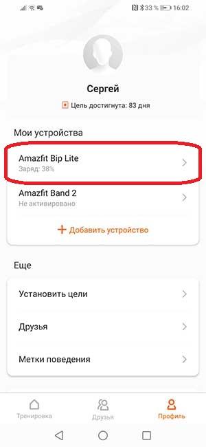 Xiaomi Amazfit Bip Lite: подробная инструкция по подключению и настройке 7