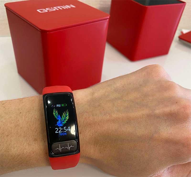 Фитнес-браслет GSMIN WR11 (2020) с измерением давления, пульса и ЭКГ – стильный гаджет для тех, кто следит за собой 1