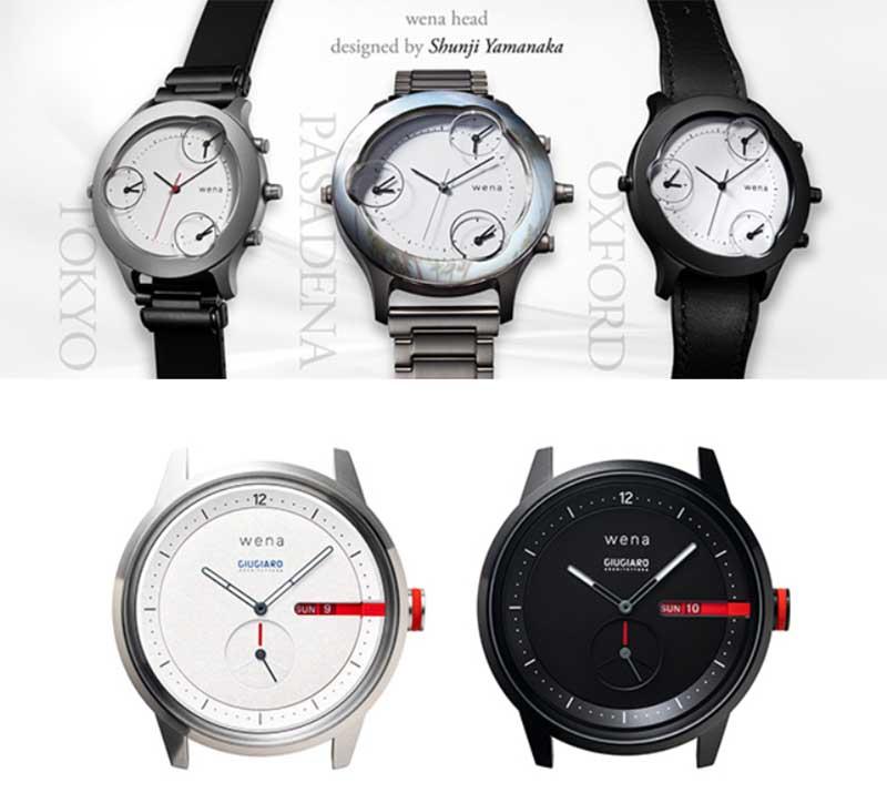 Sony представила «умный» браслет для часов Sony Wena 3 Smart Band 1