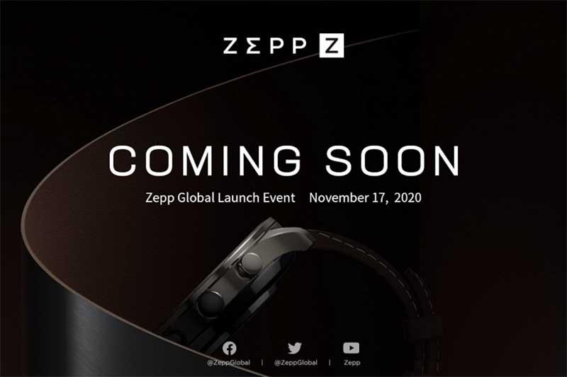 Huami представят смарт-часы Zepp Z 17 ноября 2