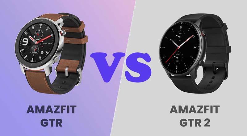 Сравнение Amazfit GTR и Amazfit GTR 2