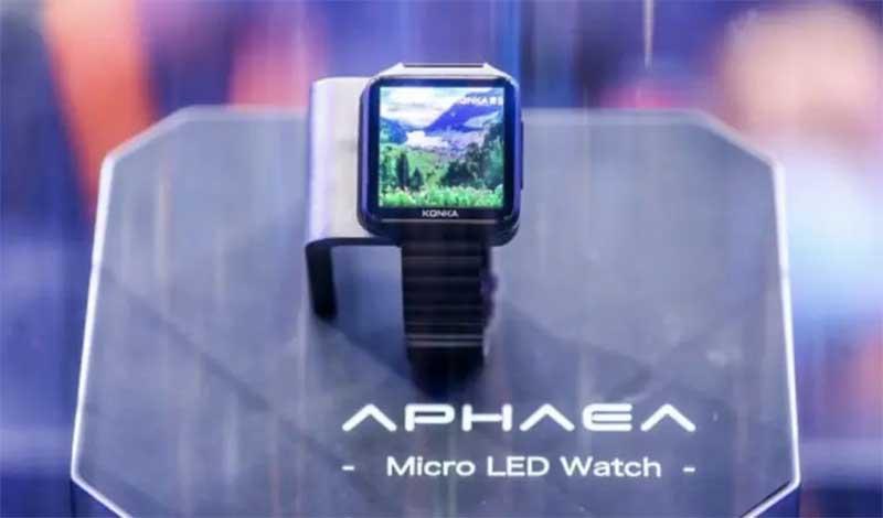 Konka Aphaea Watch: первые в мире смарт-часы с MicroLED – экраном 1