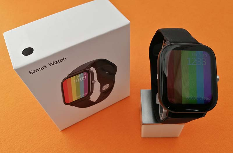 Обзор DT NO.1 DT36: смарт-часы с кучей функций за 17$ 5
