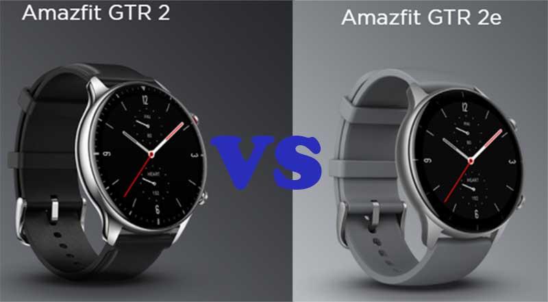 Amazfit GTR 2 и Amazfit GTR 2e