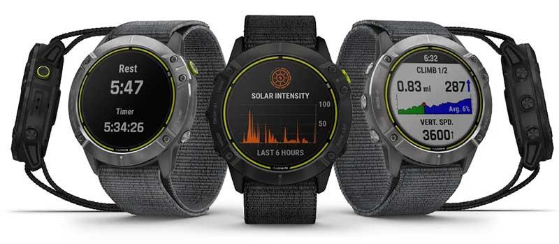 Garmin Enduro: новые мультиспортивные GPS-часы с зарядкой от солнца