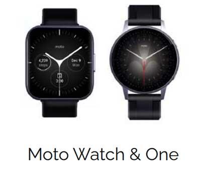 Motorola собирается представить три модели смарт-часов: Moto Watch, Moto Watch One и Moto G Smartwatch 3