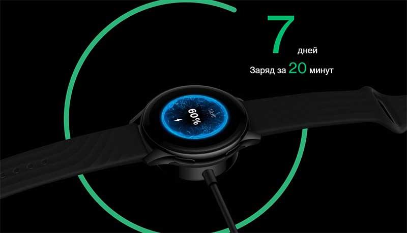 Представлены смарт-часы OnePlus Watch: цена, характеристики и дата начала продаж