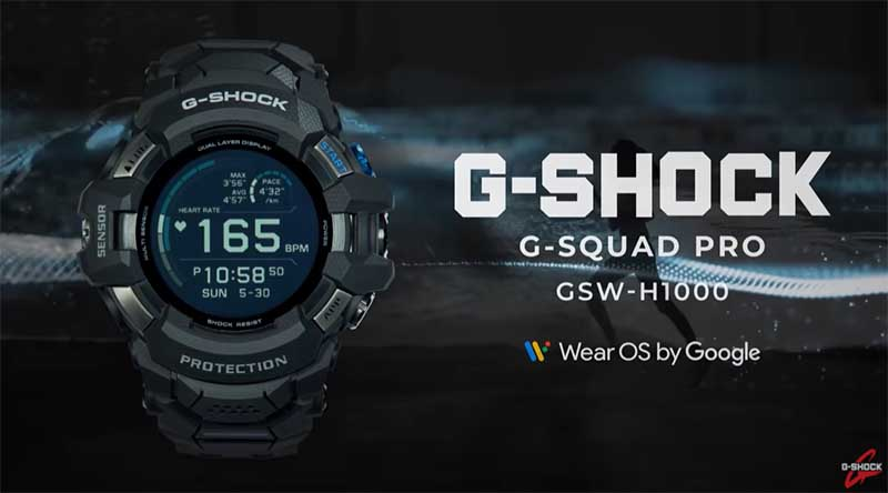 Casio G-Squad Pro GSW-H1000