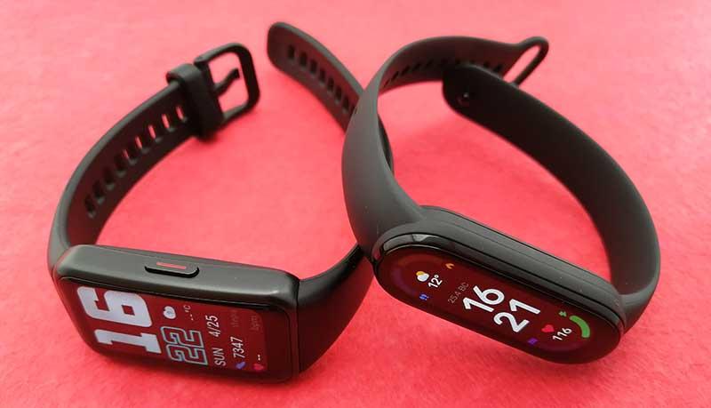 Сравнение фитнес-браслетов Xiaomi Mi Smart Band 6, Honor Band 6 и Huawei Band 6