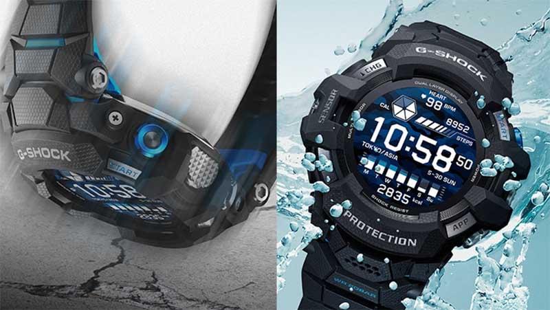 Casio G-Squad Pro GSW-H1000 за $700 - первые «умные» часы из линейки G-Shock на WearOS
