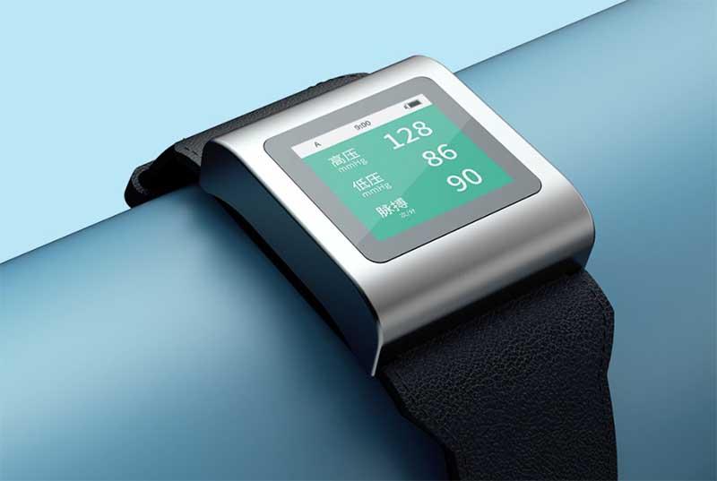 Xiaomi представила часы-тонометр для измерения давления Hipee Smart Blood Pressure Watch 1
